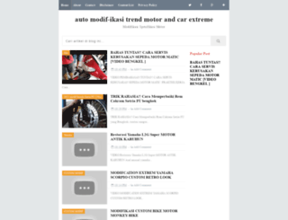modif-trend.blogspot.com screenshot