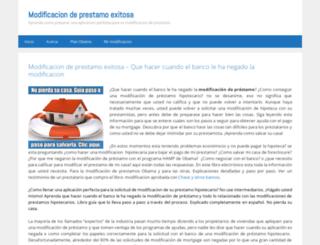 modificaciondeprestamosi.com screenshot