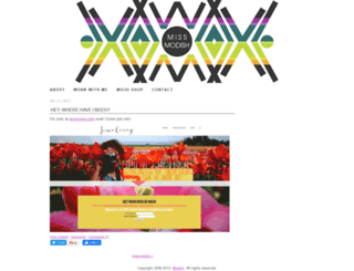 modish.typepad.com screenshot