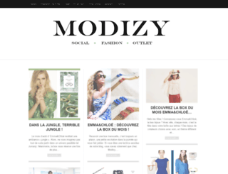 modizy.wordpress.com screenshot