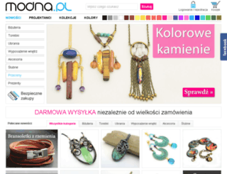 modna.pl screenshot