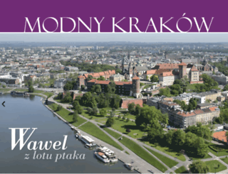 modnykrakow.pl screenshot