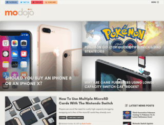 modojo.com screenshot
