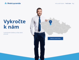 modrapyramida.jobs.cz screenshot