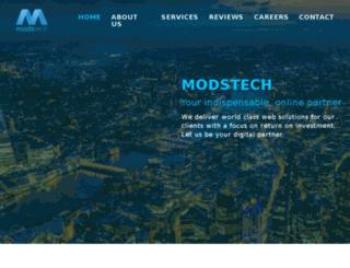 modstech.co.uk screenshot