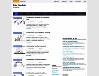 modulfisika.blogspot.co.id screenshot