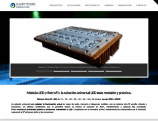 moduloled.es screenshot