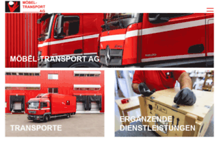 moebel-transport-ag.com screenshot