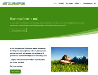 moevanvermoeidheid.nl screenshot