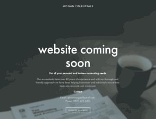 moganfinancials.com screenshot
