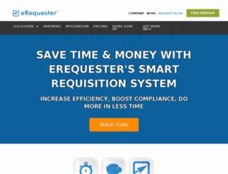 moguldom.erequester.com screenshot