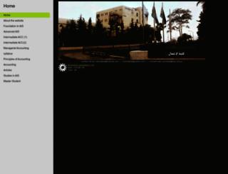 mohammedshanikat.synthasite.com screenshot