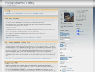mohandharma.wordpress.com screenshot