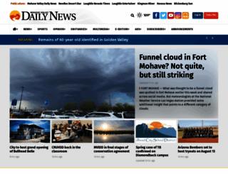 mohavedailynews.com screenshot
