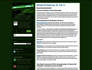 mohawkmatters.typepad.com screenshot
