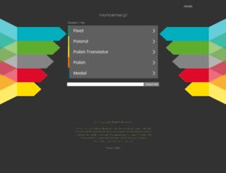 mohcenter.pl screenshot