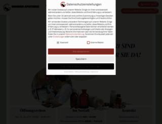 mohrenapotheke-grossenhain.de screenshot
