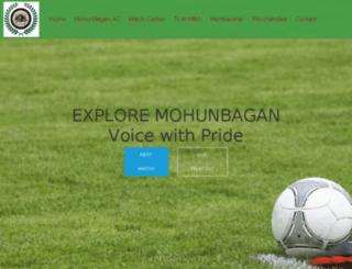 mohunbagangorbo.com screenshot