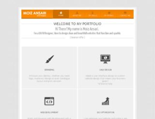 moizansari.com screenshot