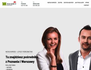 mojenowem.pl screenshot