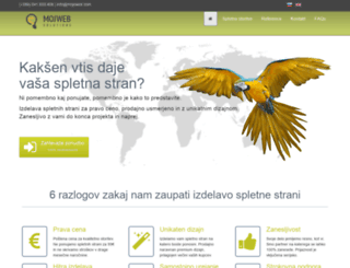 mojeweb.com screenshot