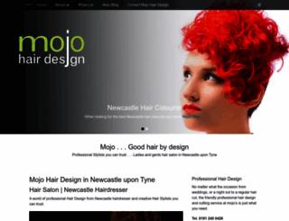 mojo-hairdesign.co.uk screenshot