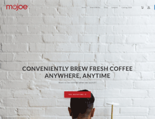 mojoebrewing.com screenshot