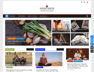 mokshamantra.com screenshot