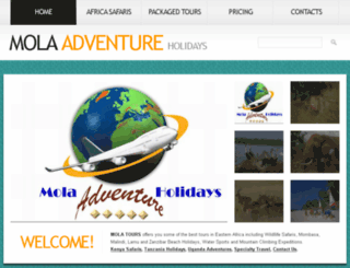 mola-safaris.com screenshot