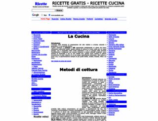 access moldrek.com. ricette di cucina italiane e regionali tutte ... - Ricette Di Cucina Gratis