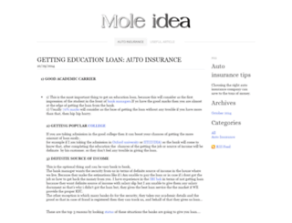 moleidea.weebly.com screenshot