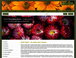 molesseeds.co.uk screenshot