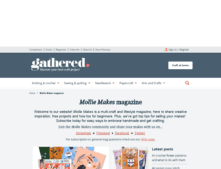 molliemakes.com screenshot