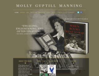 mollymanning.com screenshot