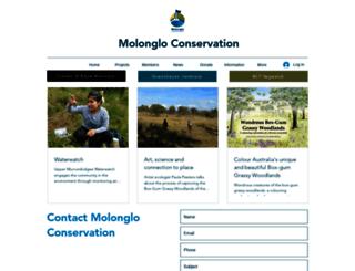 molonglocatchment.org.au screenshot