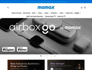 momax.net screenshot