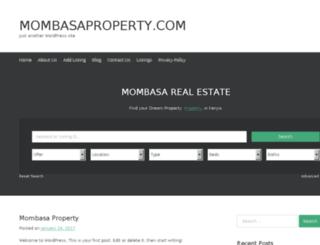 mombasaproperty.com screenshot