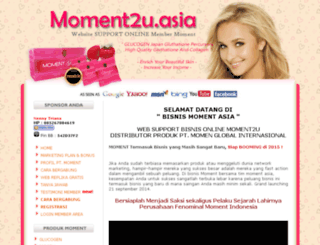 moment2u.asia screenshot