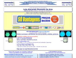 momentodaarte.com.br screenshot