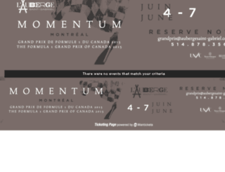 momentum.wantickets.com screenshot