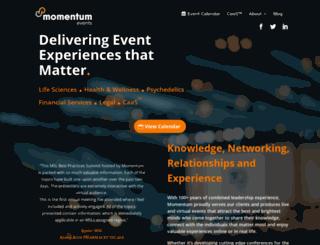 momentumevents.co screenshot