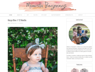 momistabeginnings.com screenshot