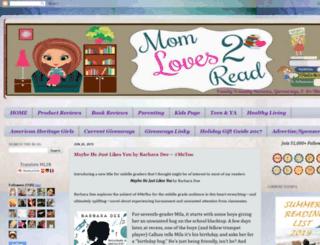 momloves2read.com screenshot