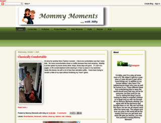 mommymomentswithabby.blogspot.com screenshot