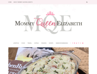 mommyqueenelizabeth.com screenshot