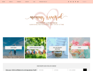 mommyunwired.com screenshot