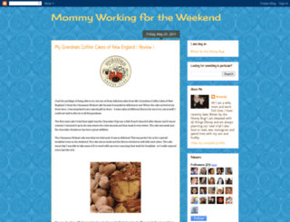 mommyworkingfortheweekend.blogspot.com screenshot