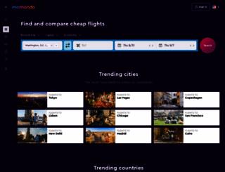 momondo.ru screenshot