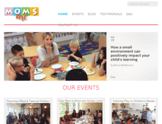 momsme.com screenshot