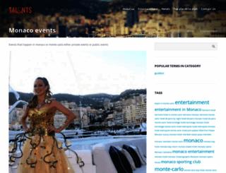 monaco-events.com screenshot
